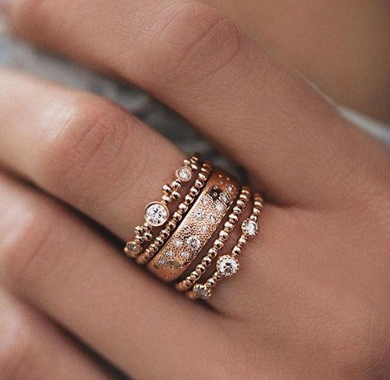 Style Tips About Rose Gold Jewelry Rhinestone Statement Ring